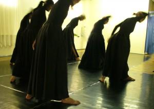 Конкурсный танец