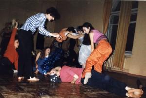 Контактная импровизация в Омске.1999г.